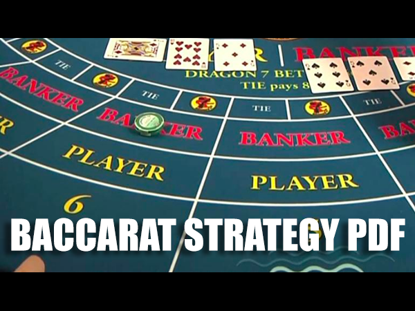Baccarat Strategy PDF
